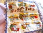 Click here to enlarge image and see more about item MB-LIN470: Souvenir Niagara Falls Canada Pillow Cover