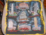 Click here to enlarge image and see more about item MB-LIN474: Old and New Boston Pillow Cover