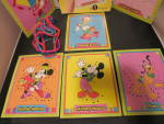 Click to view larger image of Disney Mickey and Friends Sewing Cards Colorforms 982 (Image3)