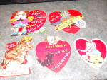 Valentine Card Lot of 5 Different Cards