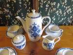 Click to view larger image of Ide Bros Ideal Ironstone Wares Teapot set 11 pieces (Image2)