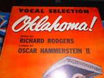 Click here to enlarge image and see more about item MB-SHM78: Oklahoma Sheet Music Rogers & Hammerstein