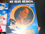 Click here to enlarge image and see more about item MB-SHM79: My Blue Heaven Sheet Music, L. Feist, N.Y.