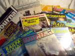 Click here to enlarge image and see more about item MB-TRN66: Toy Train Magazines Lot total of 18