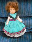 Click here to enlarge image and see more about item MB-VO163: Vogue Ginny Doll 8 inch 1977