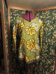 Vintage Hand Made Shirt Woman S. Cotton blend retro