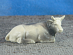 Plastic Bull Lying Named Bully