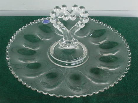 & Imperial Candlewick Deviled Egg Plate (Imperial) at Antique Junction