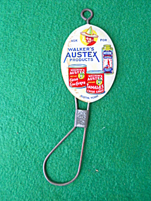 Walker's Austex Products Austin Texas Ad. Bad (Image1)