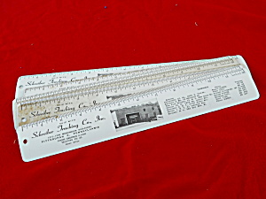 Schreiber Trucking Pittsburgh, Pa Rulers (Image1)