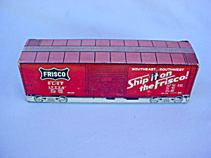Train Frisco Freight Box Car Unused Matchbook
