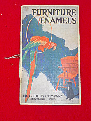 1925 Glidden Furniture Enamels Book Cleveland
