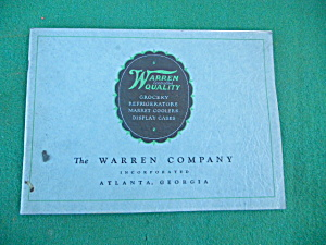 Warren Co. Commerical Refrigeration Catalog (Image1)