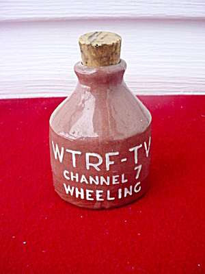 Wtrf-tv Channel 7 Wheeling Wv Mini Crock Jug