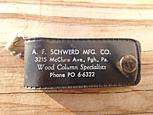 AF Schwerd Mfg Co Pittsburgh Pa Knife/Opener (Image1)
