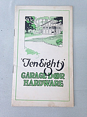 Ten-Eighty Garage Door Hardware Booklet (Image1)