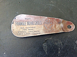 Triangle Shoes Advertisement Shoe Horn (Image1)