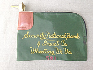 Security National Bank Wheeling WV Bank Bag  (Image1)