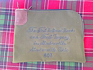 Deposit Bag 1st National Bank Steubenville (Image1)
