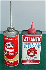 Pr. of Early Household Lubricant Oil Tins (Image1)