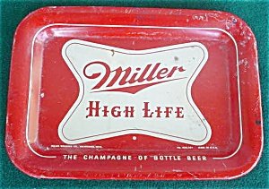Miller High Life Brewery Tip Tray (Image1)