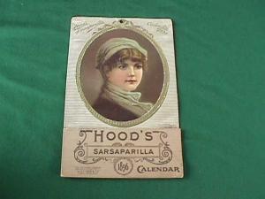 1896 Hood's Sarsaparilla Adver. Calendar (Image1)