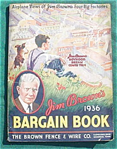 1936 Jim Brown's Bargin Book Catalog (Image1)