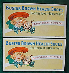 Pr. of Adver. Buster Brown Ink Blotters (Image1)