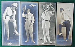 Early 1900's Stag Trousers Adver. Photo Cards (Image1)
