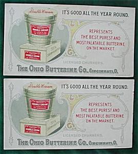 Pr Ohio Butterine Cincinnati, Oh Ink Blotters (Image1)