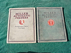 1920's Miller Auto. Feeders Printing Catalogs (Image1)