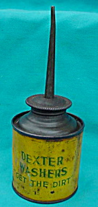 Early, Dexter Washers Oiler Tin (Image1)