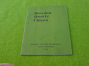 Early 1900's Hygeia Filter Co., Catalog (Image1)