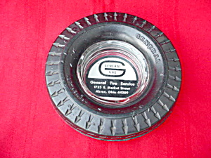 Adver. General Tire Akron, Ohio Ashtray (Image1)