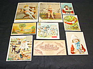 Early Medicine/remedy Trade Cards