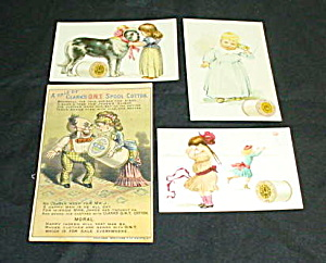 Early Thread Trade Cards (Image1)