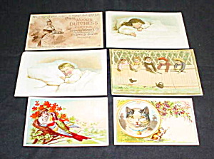 Early Coffee Trade Cards (Image1)