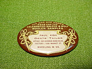 Paul Kish Tailor Wheeling, Wv Pocket Mirror