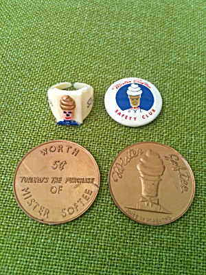Mister Softee Ice Cream Promo Items