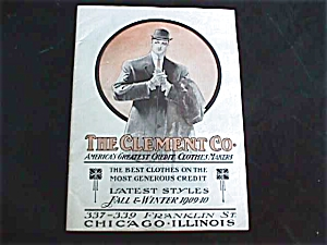 1909-10 Clement Mens Clothing Co. Catalog (Image1)