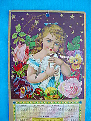 1887 Great Atlantic Pacific Tea Co. Calendar (Image1)