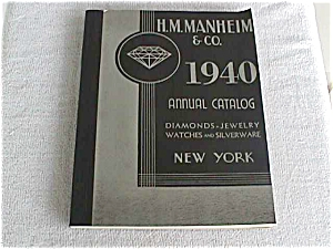 H.M. Manheim 1940 Jewelry/Watch Catalog (Image1)