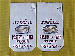 Stewart & Ward Bellaire OH 5 lb. Flour Sacks (Image1)