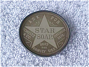 Star Soap Zanesville, Oh Adver. Pocket Mirror (Image1)