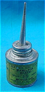 Hamilton Beach Motor Oil Can Tin (Image1)