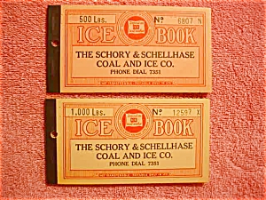 Schory & Schellhase Canton OH Ice Coupon Book (Image1)
