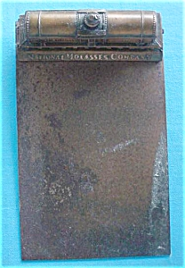 Early National Molasses Co Railroad Clipboard (Image1)