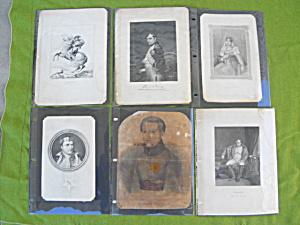 Old Prints Napoleon Bonaparte Josephine (Image1)