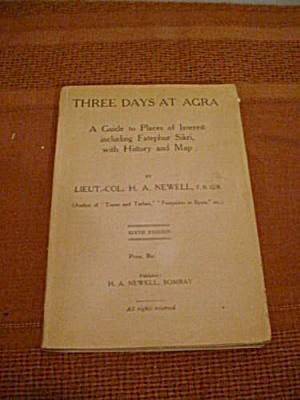 3 Days @ Agra Fatephur Sikri Guide  w/Map  (Image1)