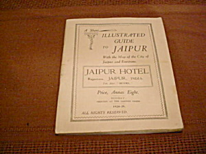 Travel Guide Jaipur India 1924-25 (Image1)